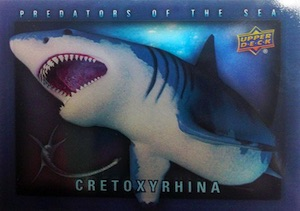 2015 Upper Deck Dinosaurs Predators of the Sea
