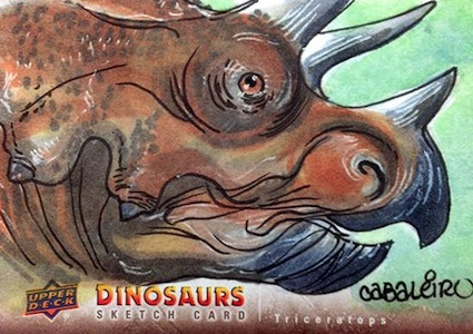 2015 Upper Deck Dinosaurs Sketch