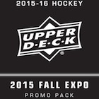 2015 Upper Deck Fall Expo Hockey Promo Cards