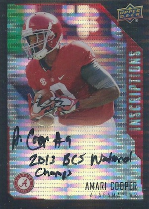 Amari Cooper Rookie Card Gallery and Checklist 54