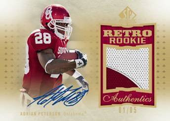 2010 SP Authentic Football 3