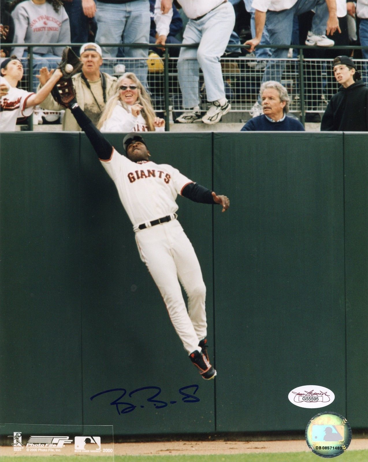 Barry Bonds Rookie Cards and Autograph Memorabilia Guide 26