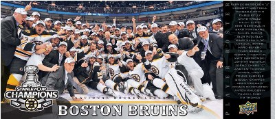 2011 Upper Deck Boston Bruins Stanley Cup Champions 3