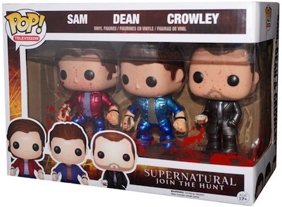 ConventionExclusive.com NYCC Funko Exclusives Supernatural Metallic Blood Splatter