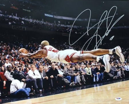 Dennis Rodman Cards and Memorabilia Guide 27