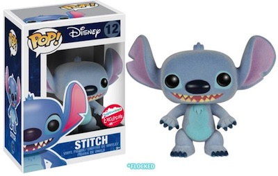 Fugitive Toys NYCC Funko Exclusives Pop Stich Flocked
