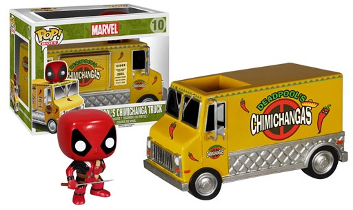Funko Pop Rides Vinyl Toys Deadpools Chimichanga