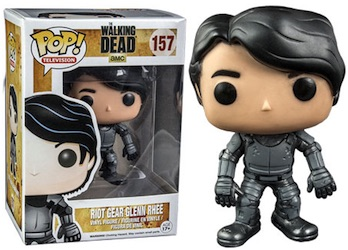 Funko Pop Walking Dead 157 Riot Gear Glenn Ghee Hot Topic