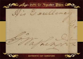 2011 Leaf Cut Signature Edition 1