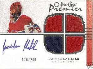 Jaroslav Halak Rookie Card Checklist 1