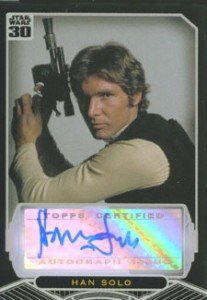 Harrison Ford Autograph Card Collecting Guide and Checklist 24