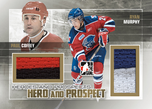 2010-11 In the Game Heroes & Prospects Update Hockey 2