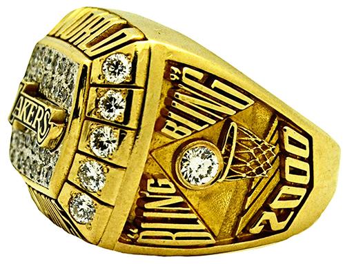 Kobe Bryant Championsip Ring Sells For More Than 165 000
