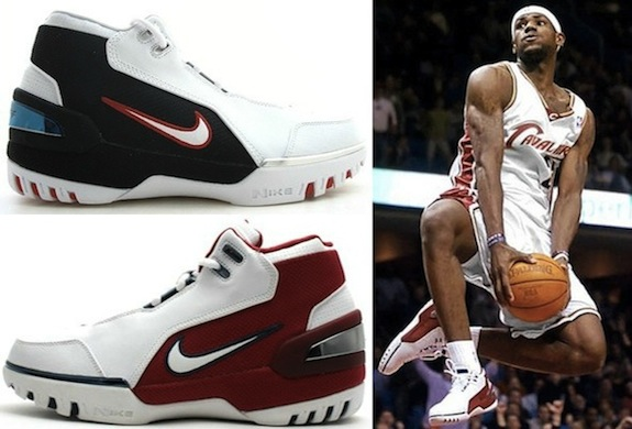 Complete Visual History of the Nike LeBron James Shoe Line 1