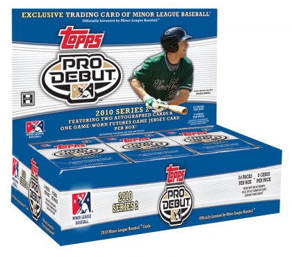 2010 Topps Pro Debut Series 2 Baseball 1