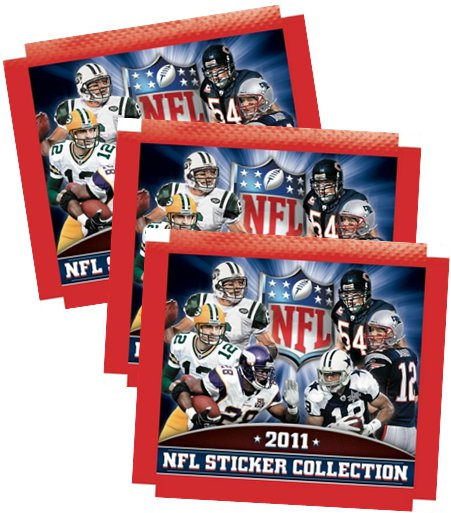 2011 Panini NFL Sticker Collection 4
