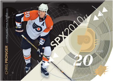 2010-11 Upper Deck SPx Hockey 1