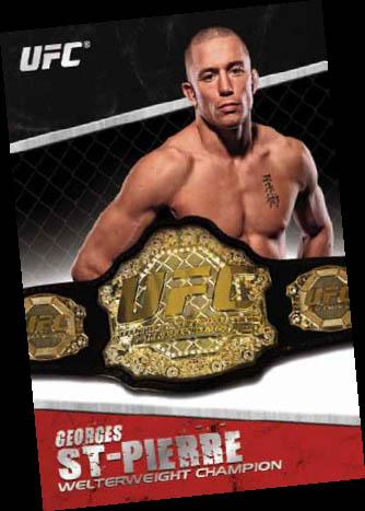 2011 Topps UFC Title Shot 57