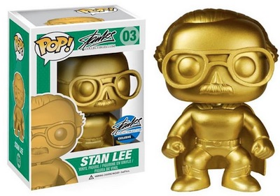 Stan Lee Collectibles NYCC Funko Exclusive 2015 Gold