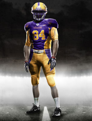 Fictional Nike NFL Uniforms Play-Fake National Media 28