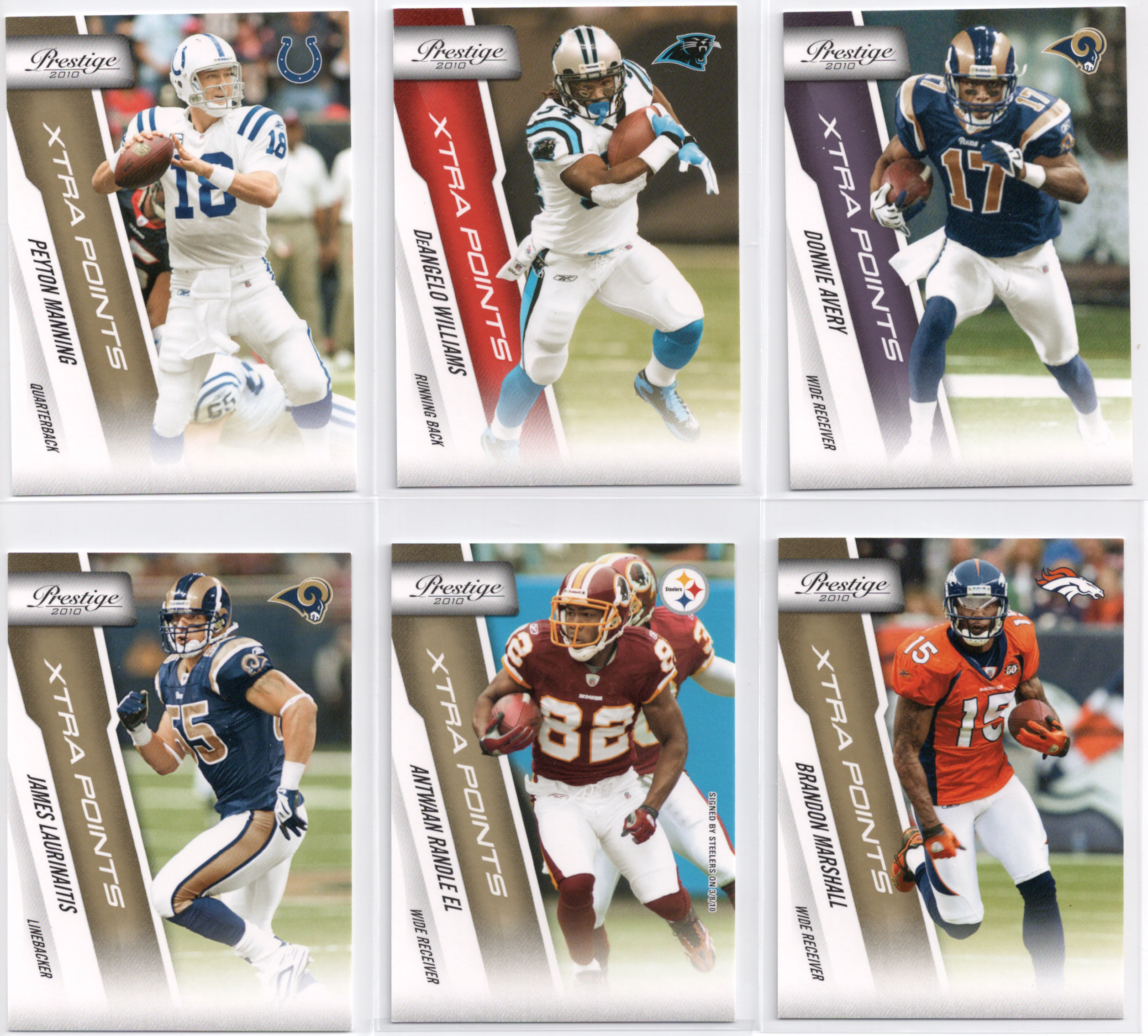 2010 Panini Prestige Football Cards 18