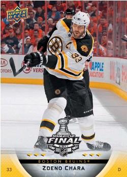 2011 Upper Deck Boston Bruins Stanley Cup Champions 2