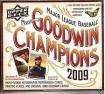 2009 Upper Deck Goodwin Champions Baseball Cards