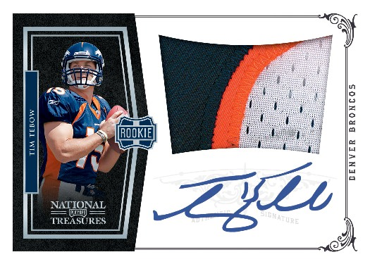2010 National Treasures Football 18