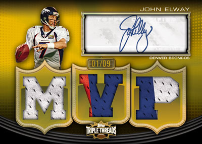 2010 Topps Triple Threads Football 6