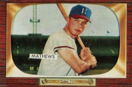 Top 10 Eddie Mathews Baseball Cards 2