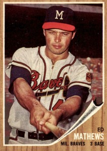 Top 10 Eddie Mathews Baseball Cards 3