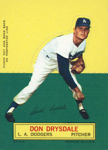 Top 10 Don Drysdale Baseball Cards 7