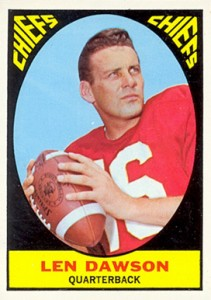 Top 10 Len Dawson Football Cards 4