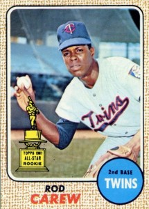 Top 10 Rod Carew Baseball Cards 9