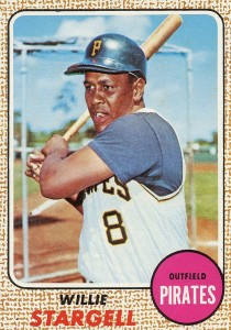 Top 10 Willie Stargell Baseball Cards 7
