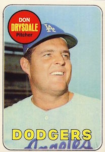 Top 10 Don Drysdale Baseball Cards 2