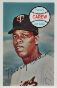 1970 Kellogg's 3-D Super Stars Rod Carew #47