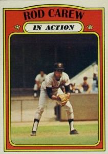 1972 Topps Rod Carew #696