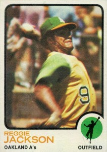 Top 10 Reggie Jackson Baseball Cards 6