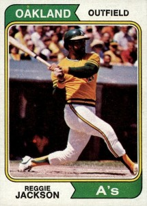 Top 10 Reggie Jackson Baseball Cards 2