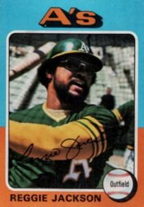 1975 Topps Reggie Jackson #300
