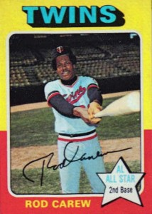 1975 Topps Rod Carew #600