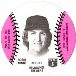 1977 Burger Chef Collectors Series Robin Yount #ROYO