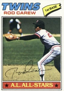 Top 10 Rod Carew Baseball Cards 2