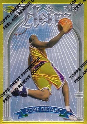 1996-97 Finest Gold Heirs Kobe Bryant #269