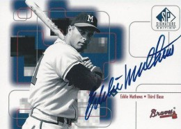 Top 10 Eddie Mathews Baseball Cards 7