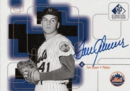 1999 Upper Deck SP Signature Edition Tom Seaver Autograph