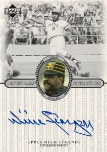 2000 Upper Deck Legends Willie Stargell Autograph