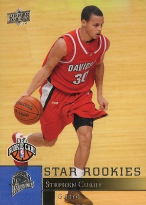 Top 10 Stephen Curry Rookie Cards 1