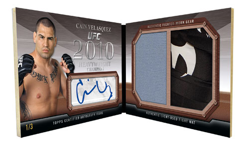 2011 Topps UFC Moment of Truth 41